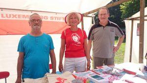 Die Rosa-Luxemburg-Stiftung stellt sich beim Tag der Vereine vor (8/2016).